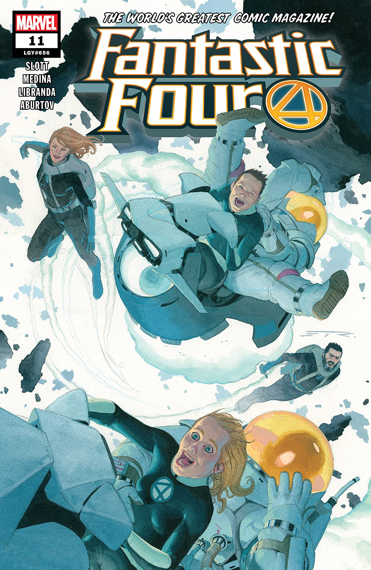 Fantastic Four (2018-) No.11