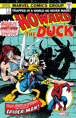 Howard the Duck (1976-1979) #1: Facsimile Edition