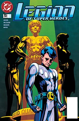 Legion of Super-Heroes (1989-2000) #72