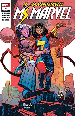 Magnificent Ms. Marvel (2019-) No.4
