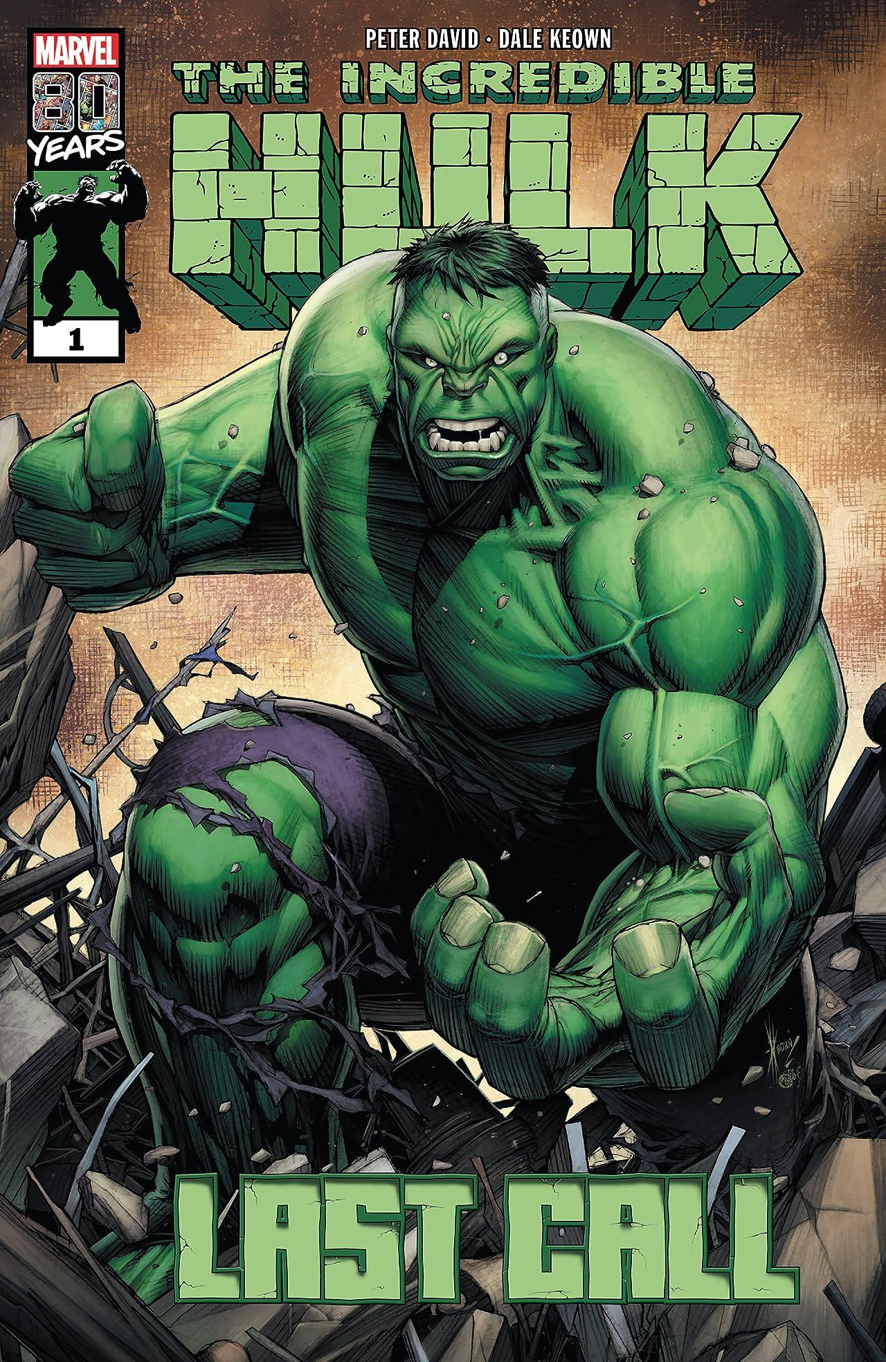45376a915ff5 Incredible Hulk: Last Call (2019) #1 - Marvel Comics