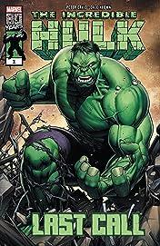 Incredible Hulk: Last Call (2019) No.1