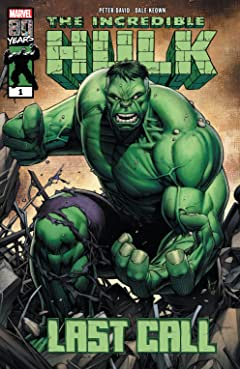 Incredible Hulk: Last Call (2019) #1