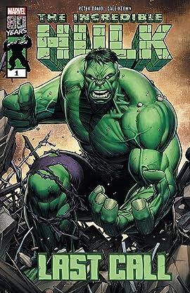 Incredible Hulk: Last Call (2019) #1