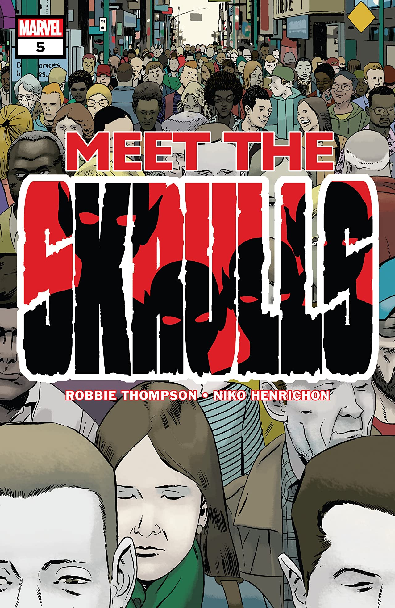 Meet The Skrulls (2019) No.5 (sur 5)