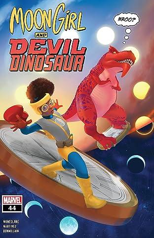 Moon Girl and Devil Dinosaur (2015-) #44