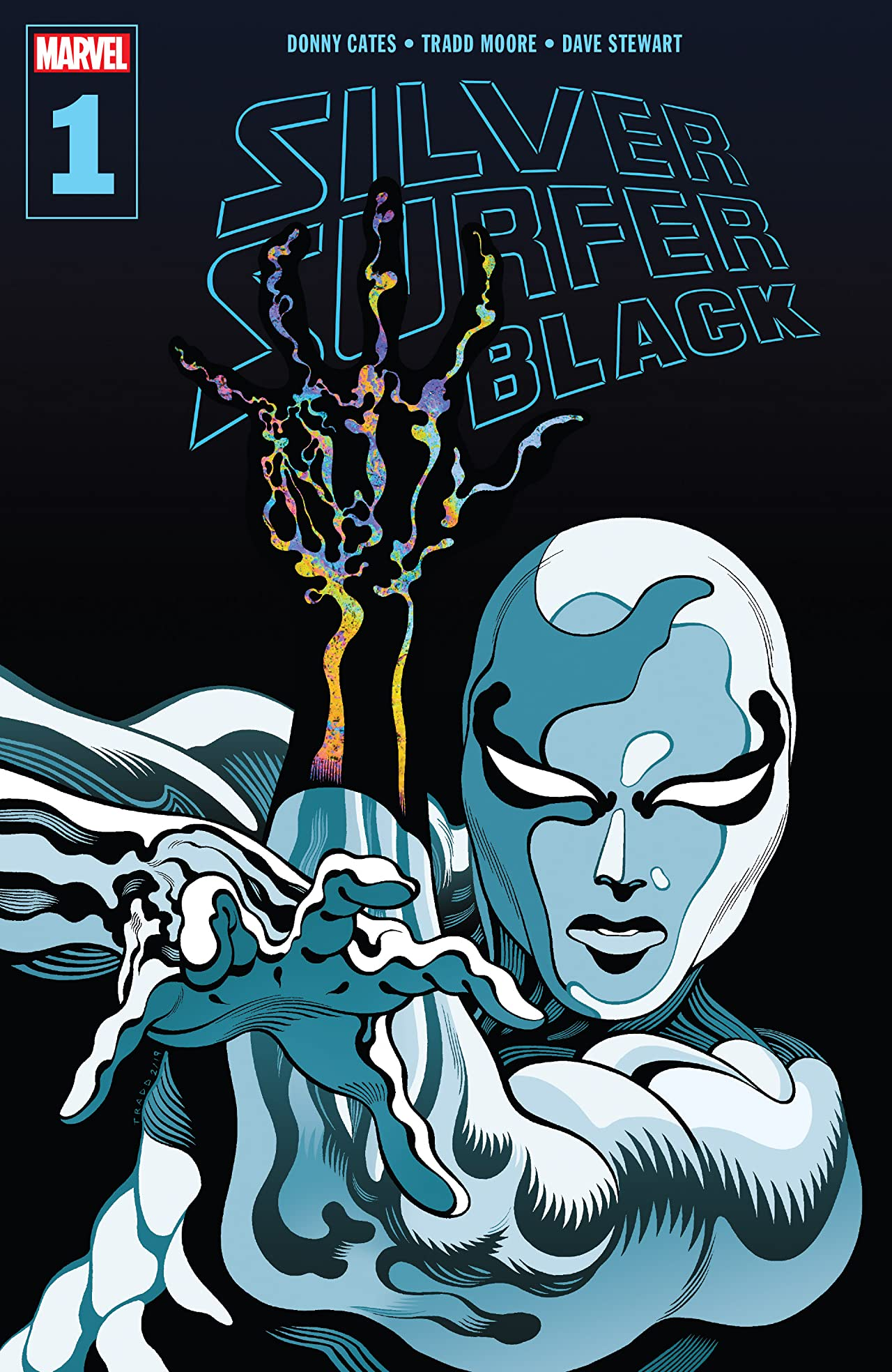 Image result for silver surfer black