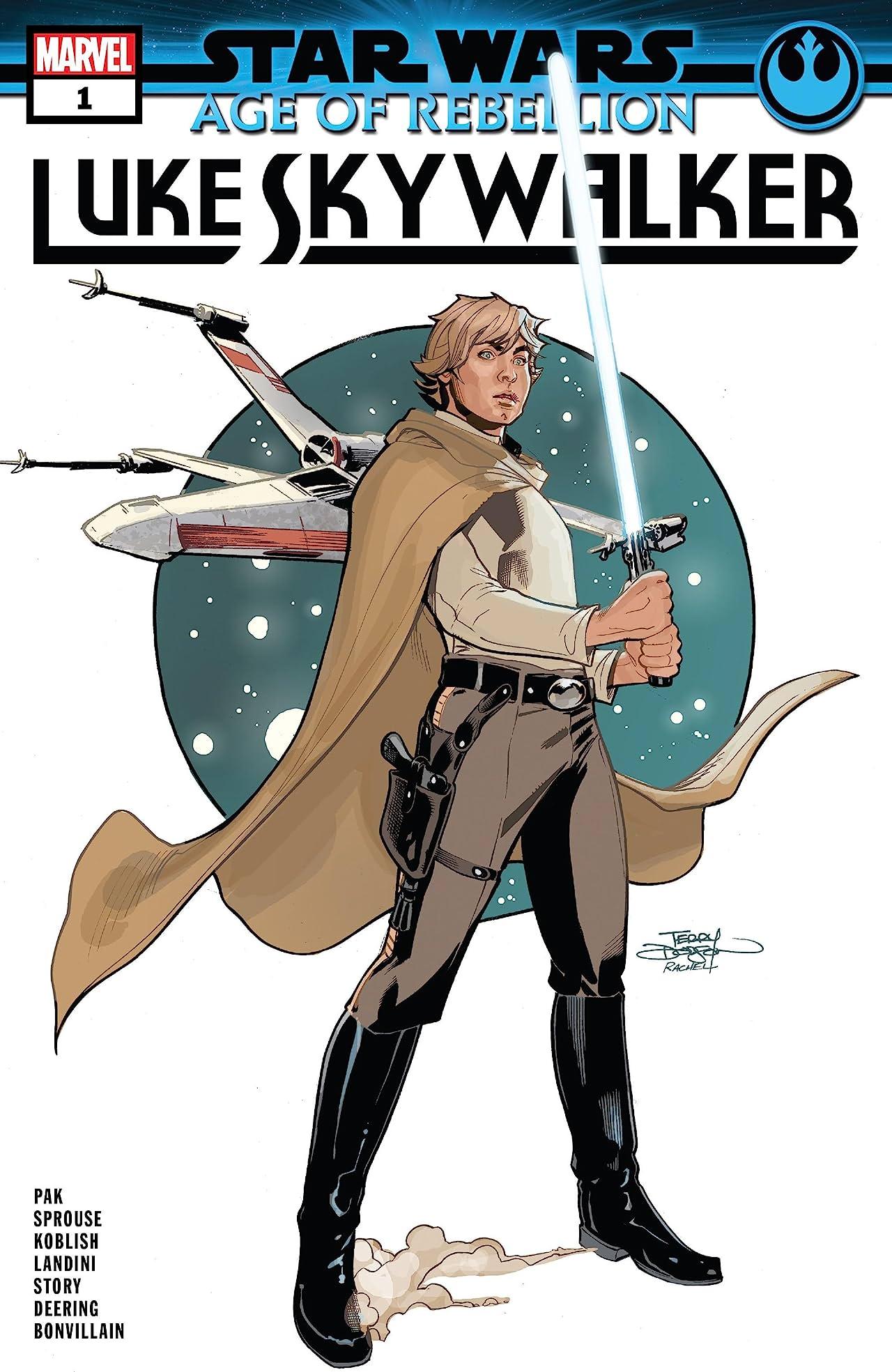 Star Wars: Age Of Rebellion - Luke Skywalker (2019) #1