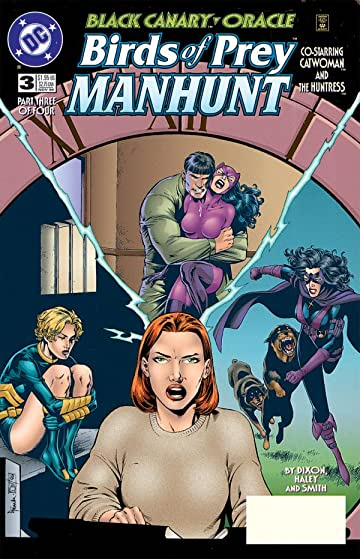 Birds of Prey: Manhunt #3