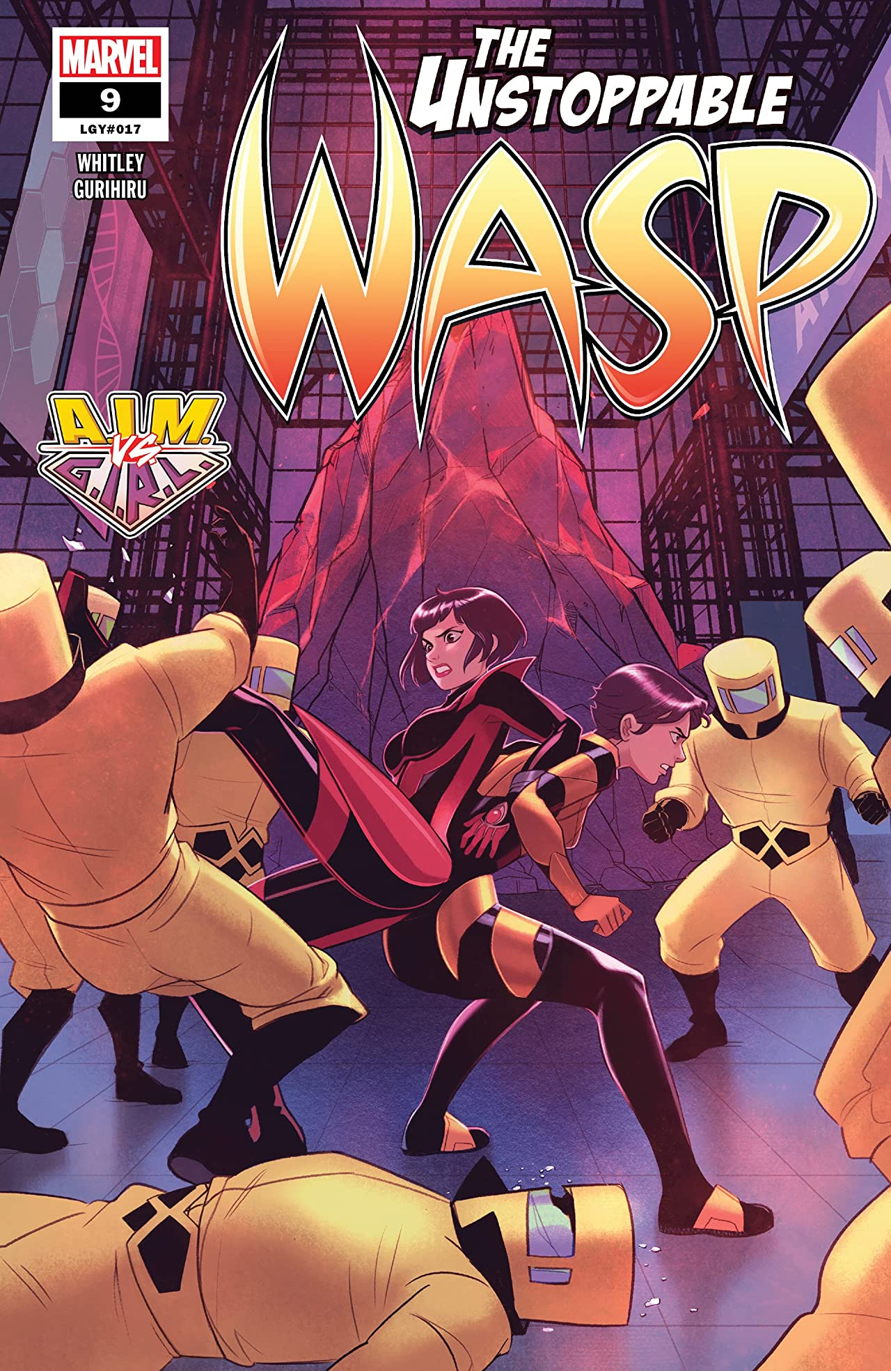 The Unstoppable Wasp (2018-) No.9
