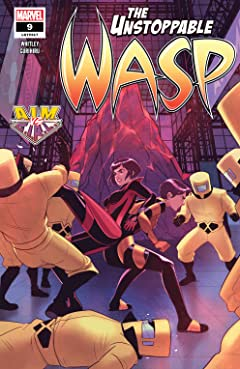 The Unstoppable Wasp (2018-) #9