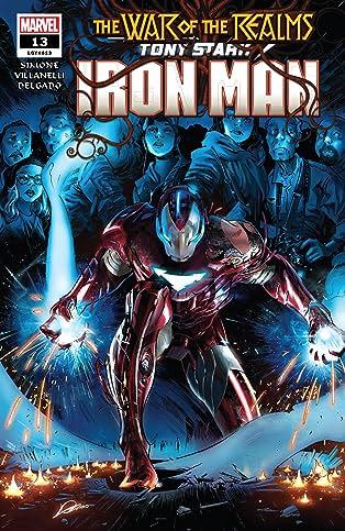 Tony Stark: Iron Man (2018-) #13