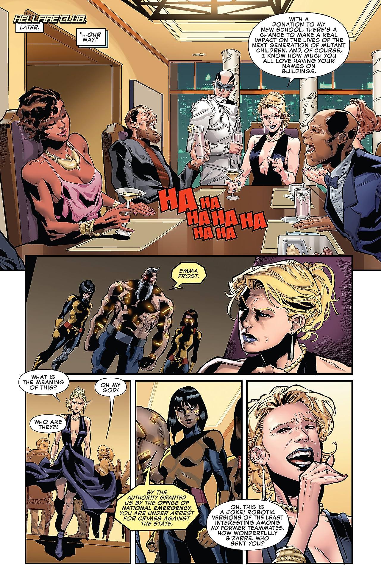 Uncanny X-Men (2018-) #19