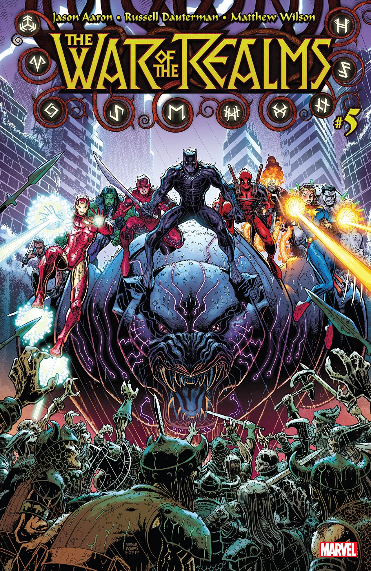 War Of The Realms (2019-) No.5 (sur 6)