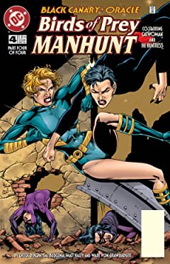 Birds of Prey: Manhunt #4