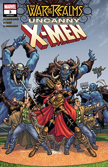 War Of The Realms: Uncanny X-Men (2019) #3 (of 3)
