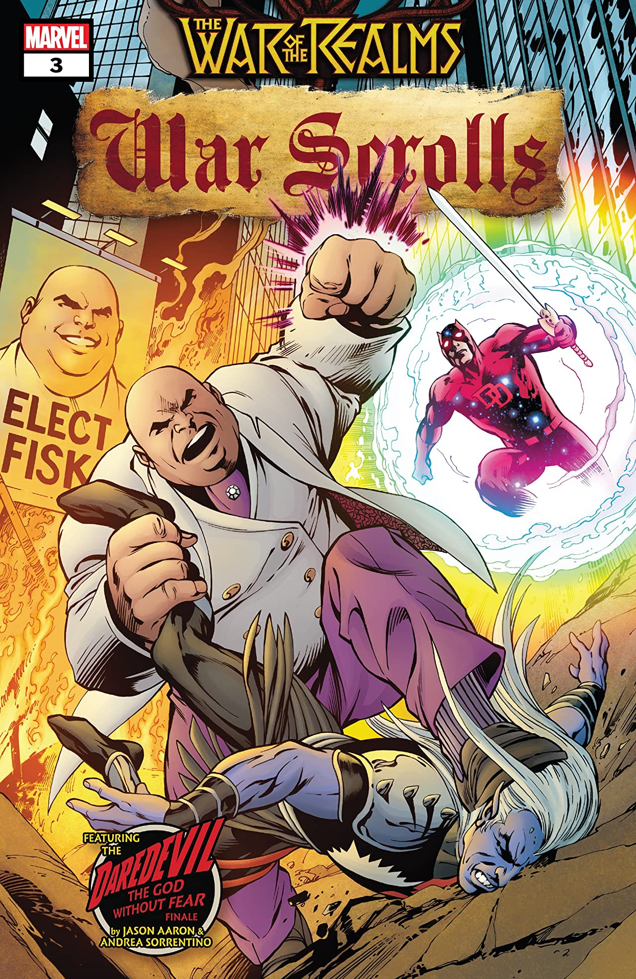 War Of The Realms: War Scrolls (2019-) No.3 (sur 3)