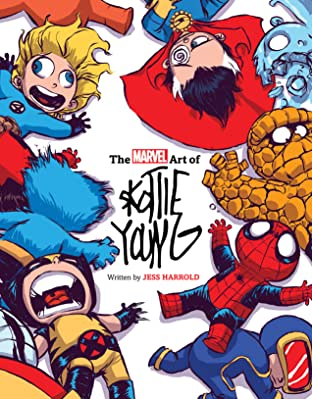 The Marvel Art Of Skottie Young