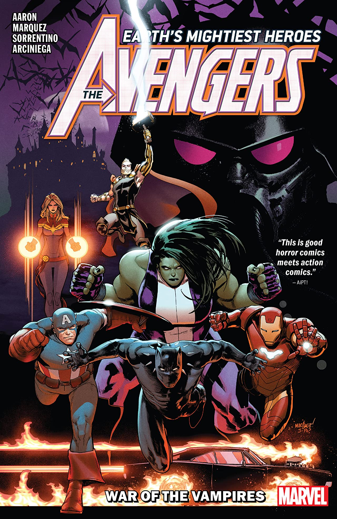 Avengers by Jason Aaron Vol. 3: War Of The Vampires