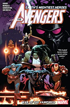 Avengers by Jason Aaron Tome 3: War Of The Vampires