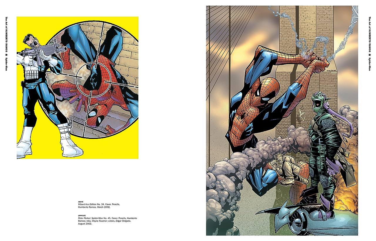 Marvel Monograph: The Art of Humberto Ramos - Spider-Man