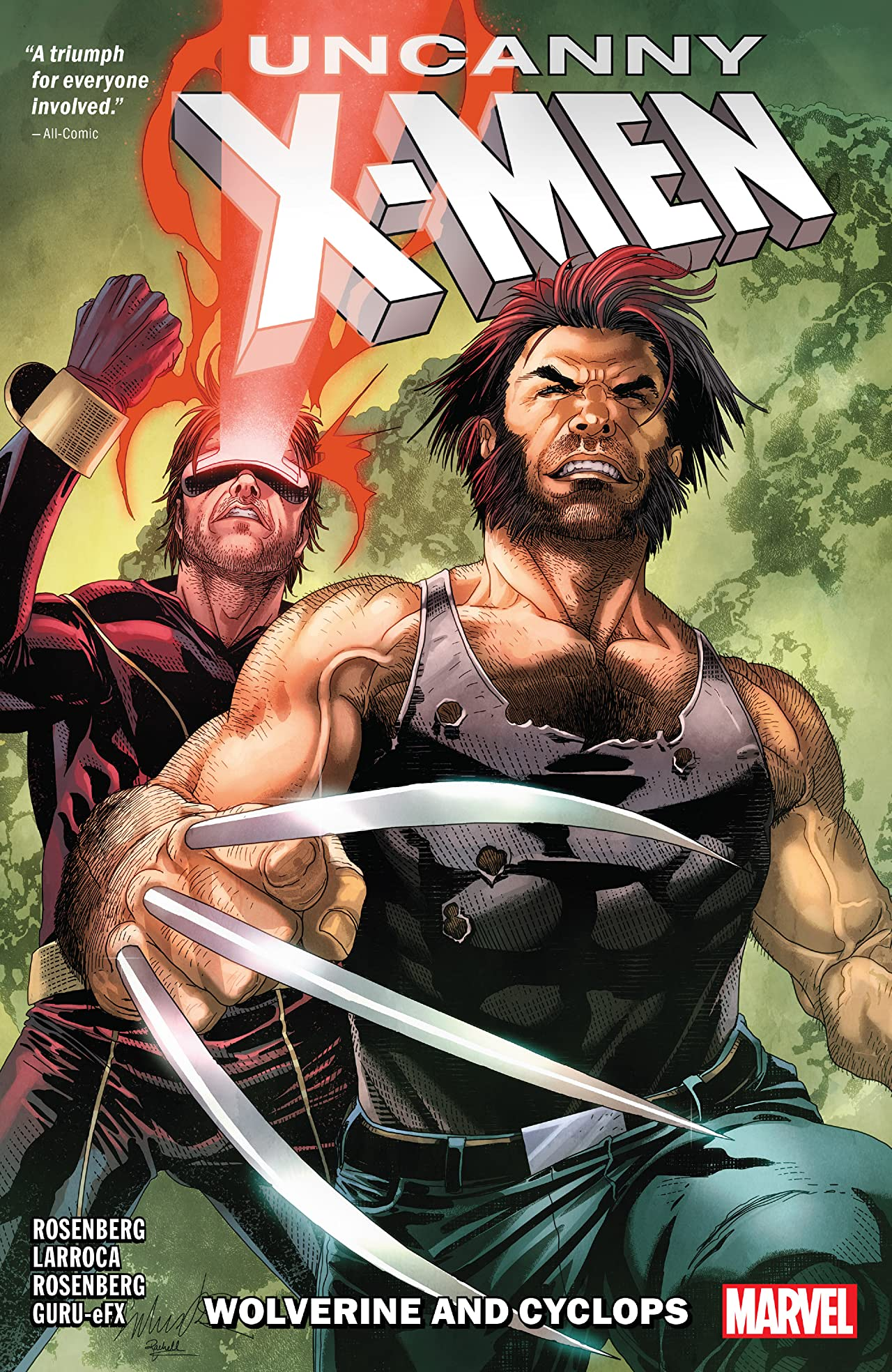 Uncanny X-Men Tome 1: Cyclops And Wolverine