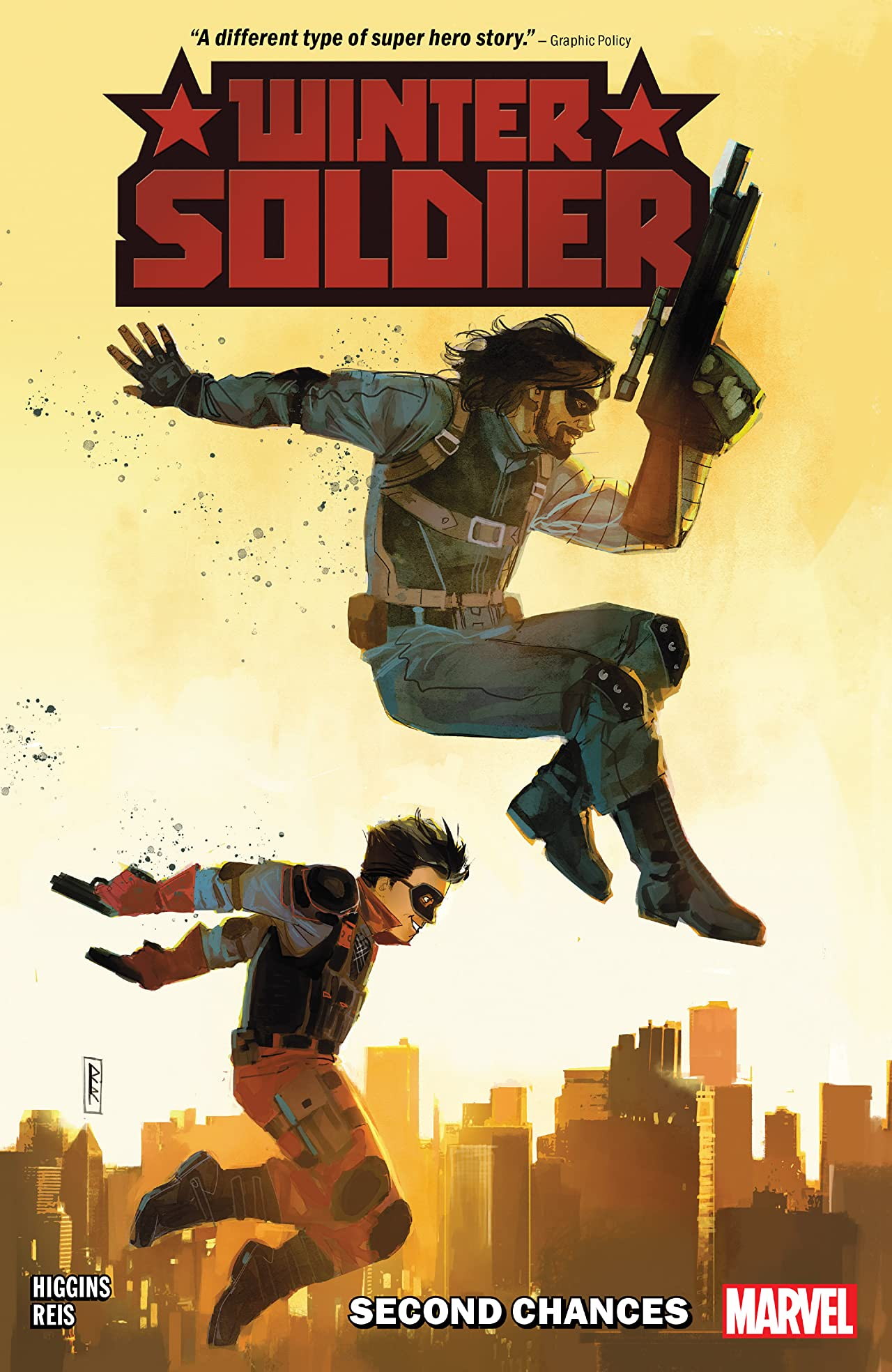 Winter Soldier: Second Chances (2019) cover, published by Marvel Comics