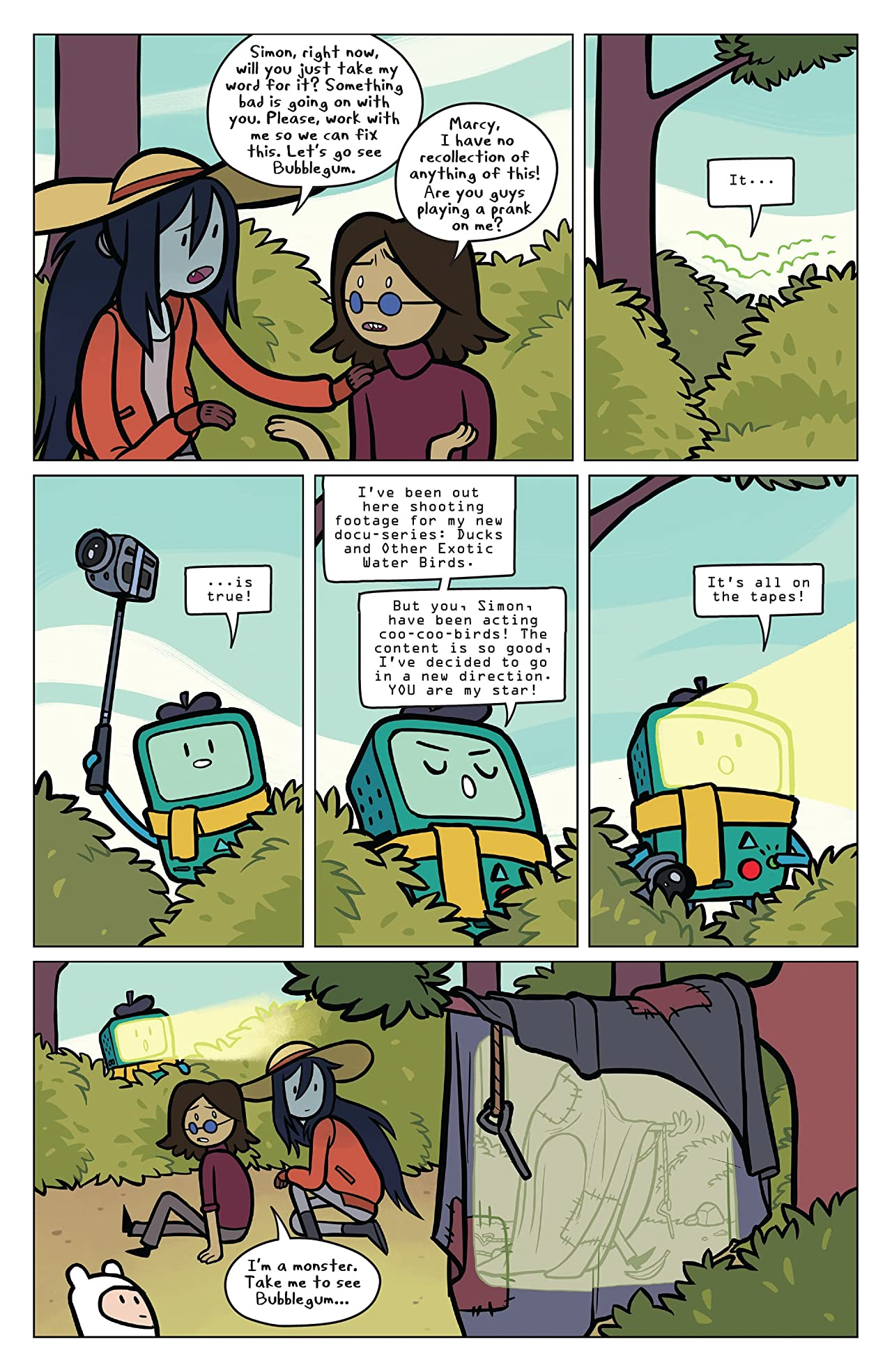 Adventure Time: Marcy & Simon #4