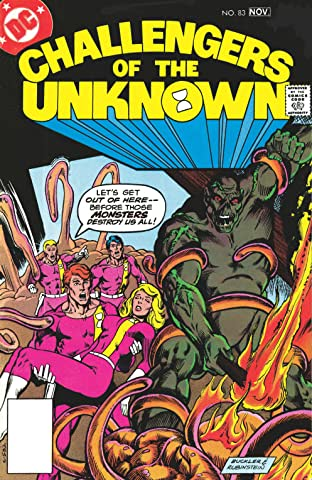Challengers of the Unknown (1958-1978) No.83