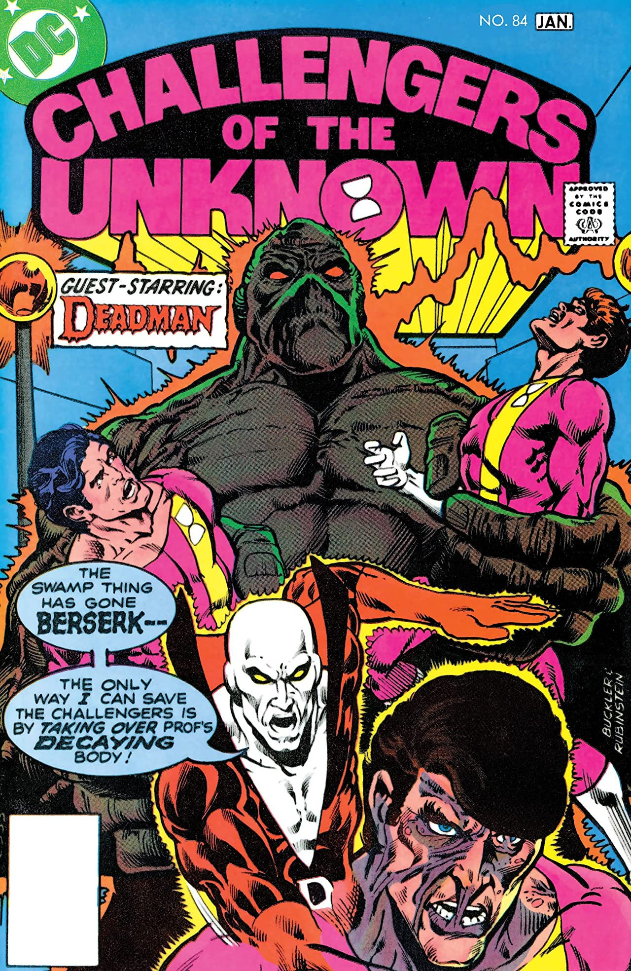 Challengers of the Unknown (1958-1978) No.84