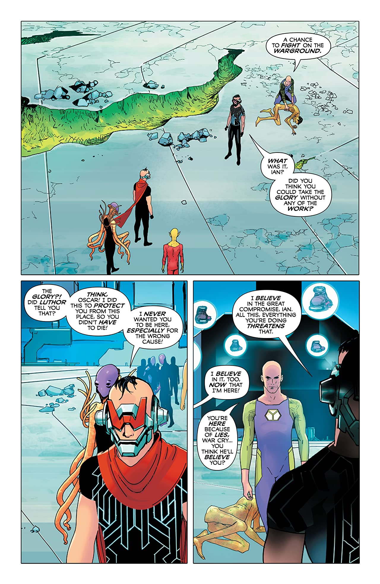 Electric Warriors (2018-) #6