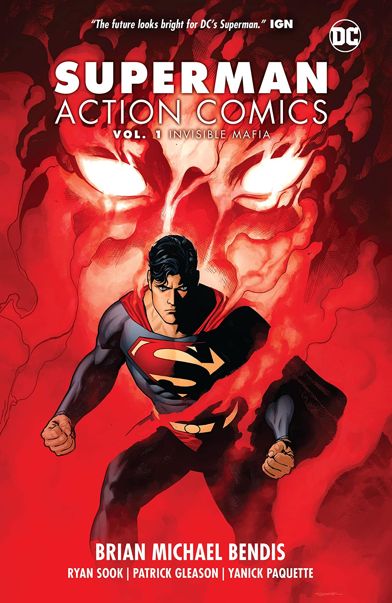 Superman - Action Comics (2016-) Vol. 1: Invisible Mafia