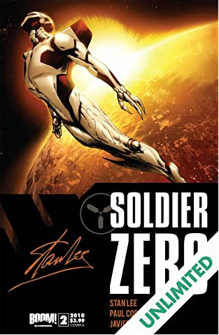 Stan Lee's Soldier Zero #2