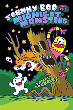 Johnny Boo and the Midnight Monsters (Book 10)