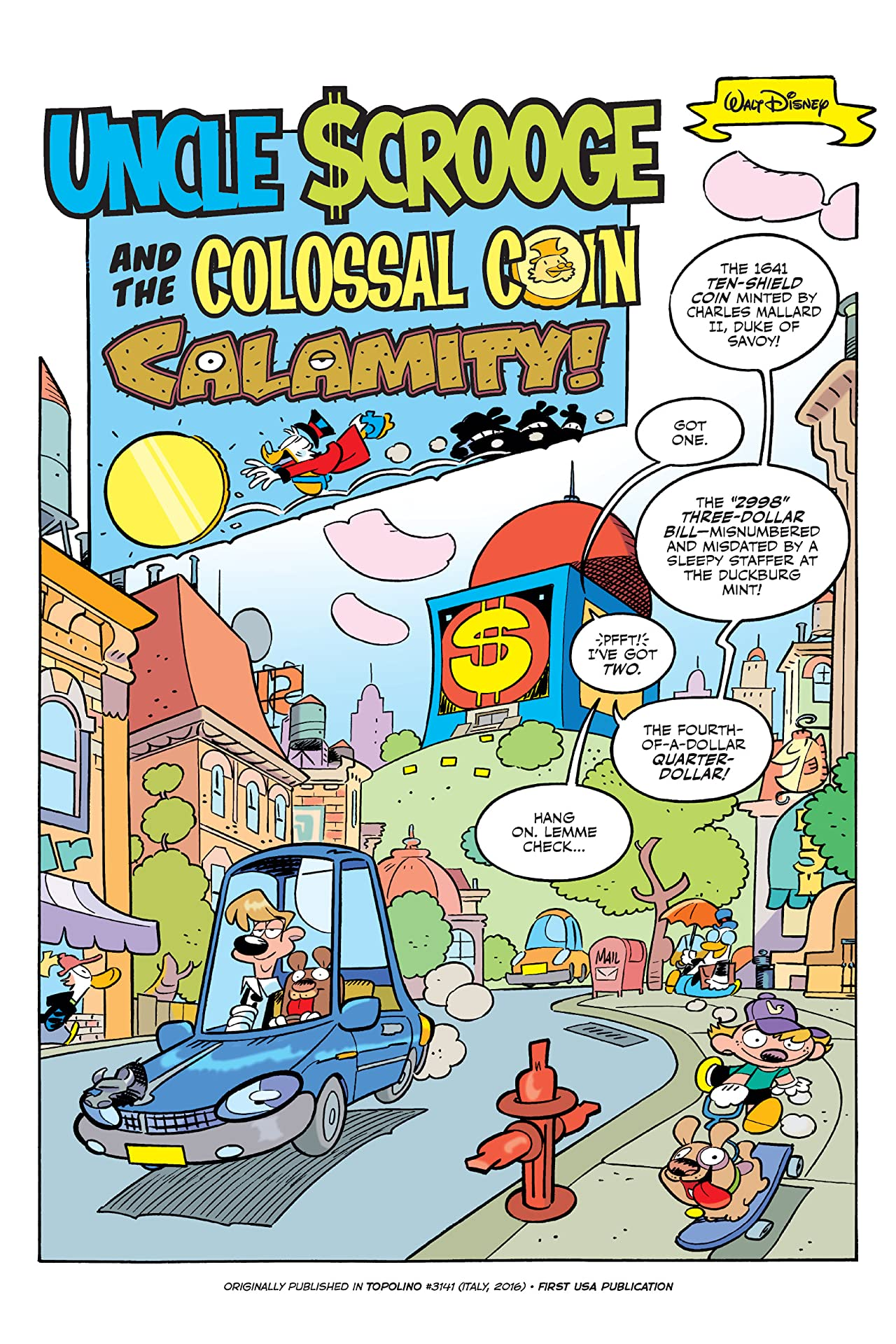 Uncle Scrooge: The Colossal Coin Calamity
