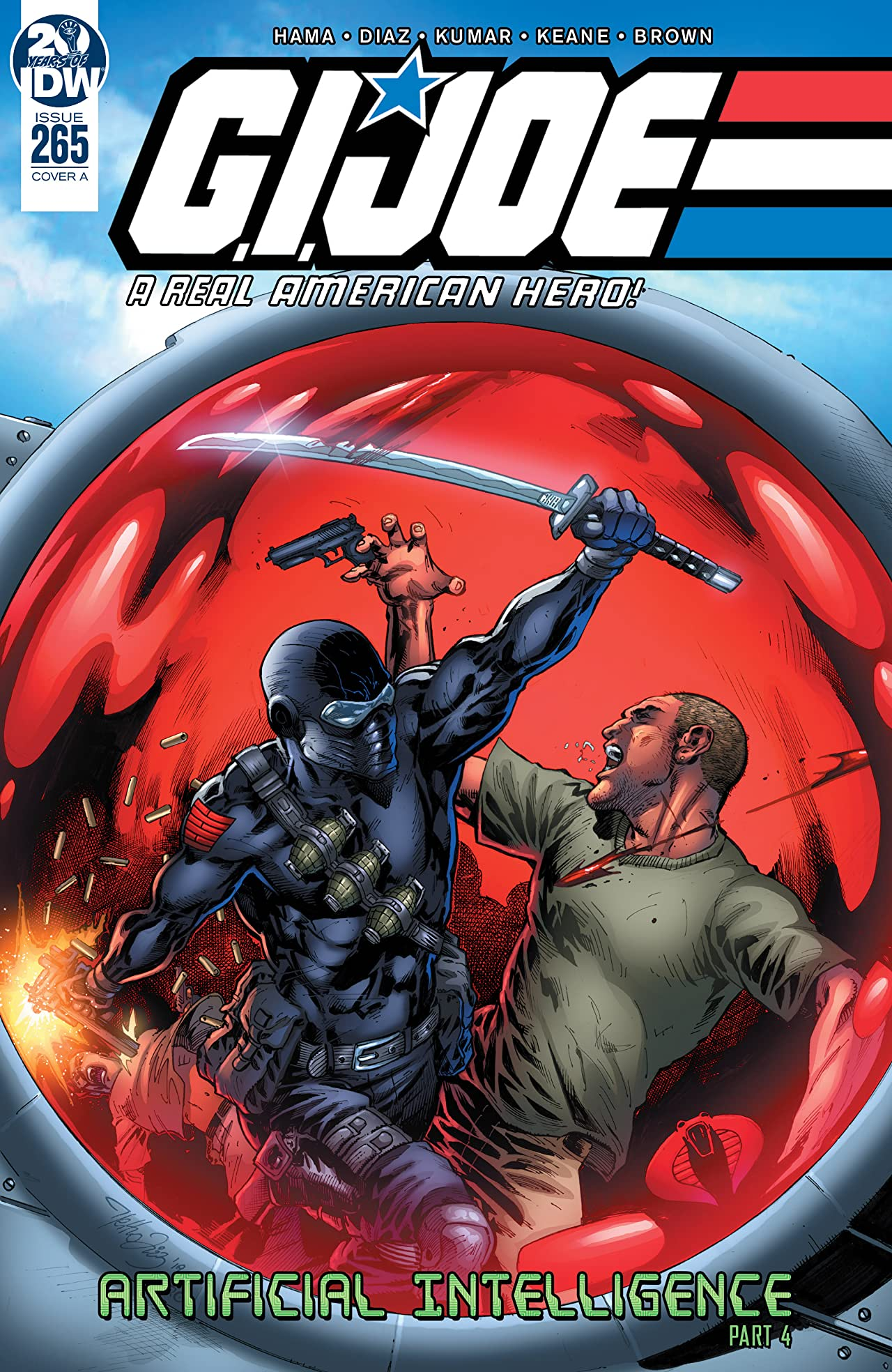 G.I. Joe: A Real American Hero No.265