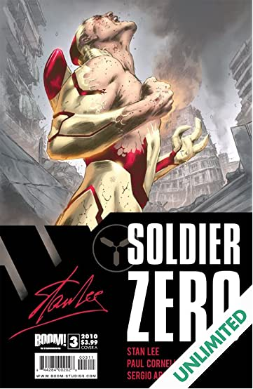 Stan Lee's Soldier Zero #3