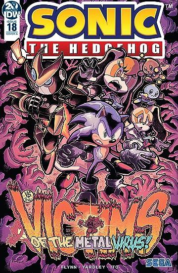 Sonic The Hedgehog (2018-) #18