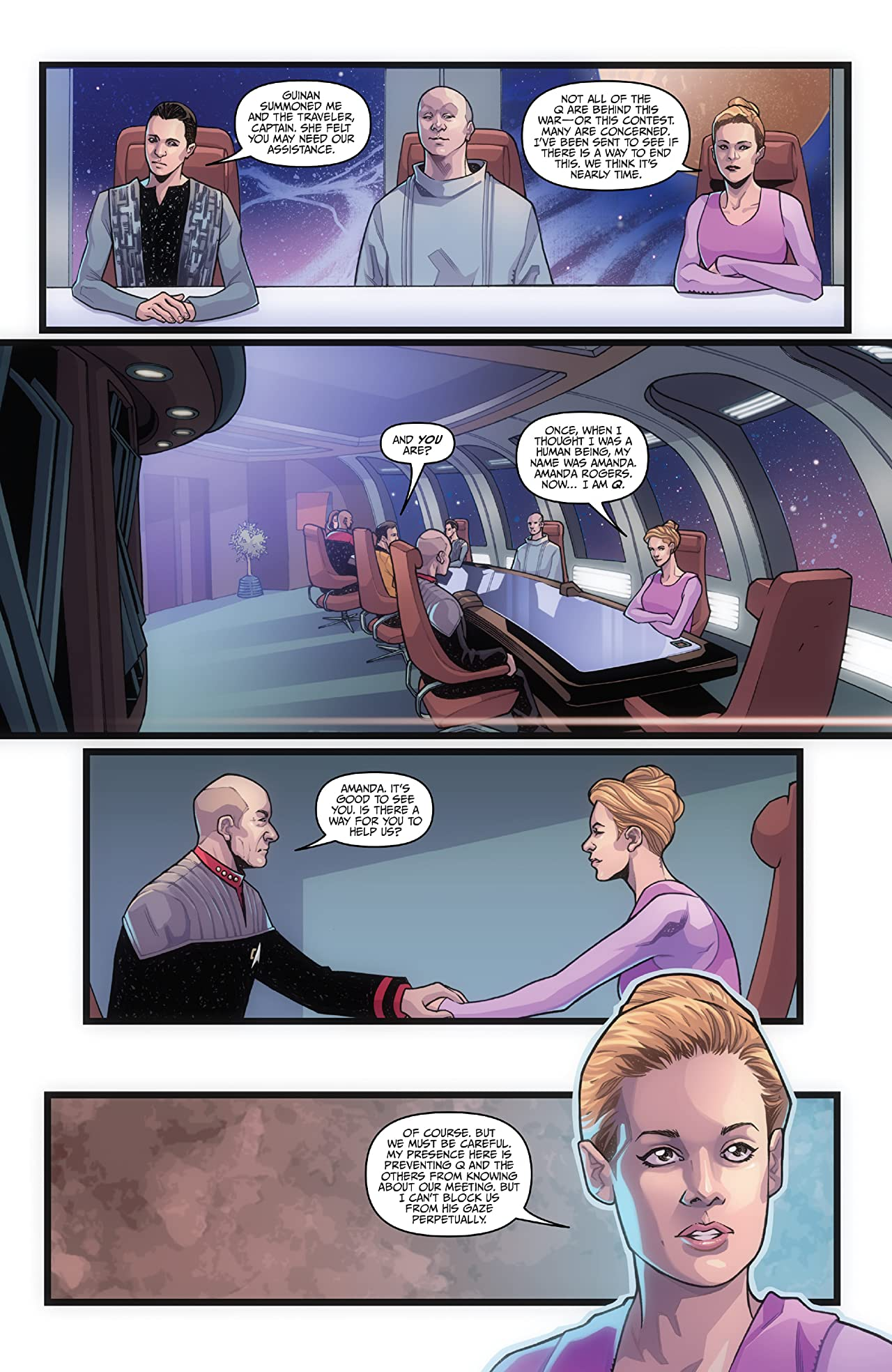 Star Trek: The Q Conflict #6 (of 6)