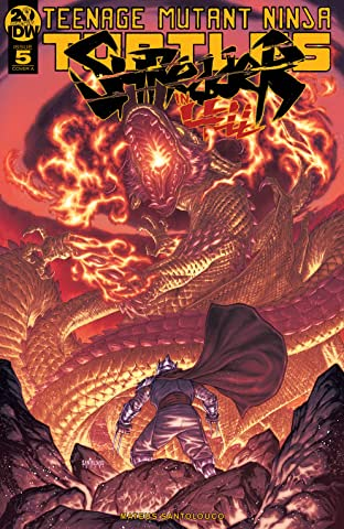 Teenage Mutant Ninja Turtles: Shredder in Hell No.5 (sur 5)