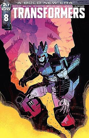 Transformers (2019-) No.8