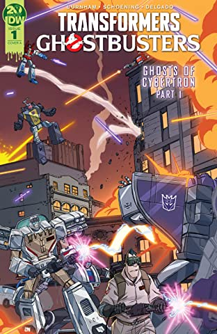 Transformers/Ghostbusters No.1