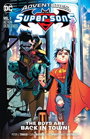 Adventures of the Super Sons (2018-2019) Tome 1: Action Detectives