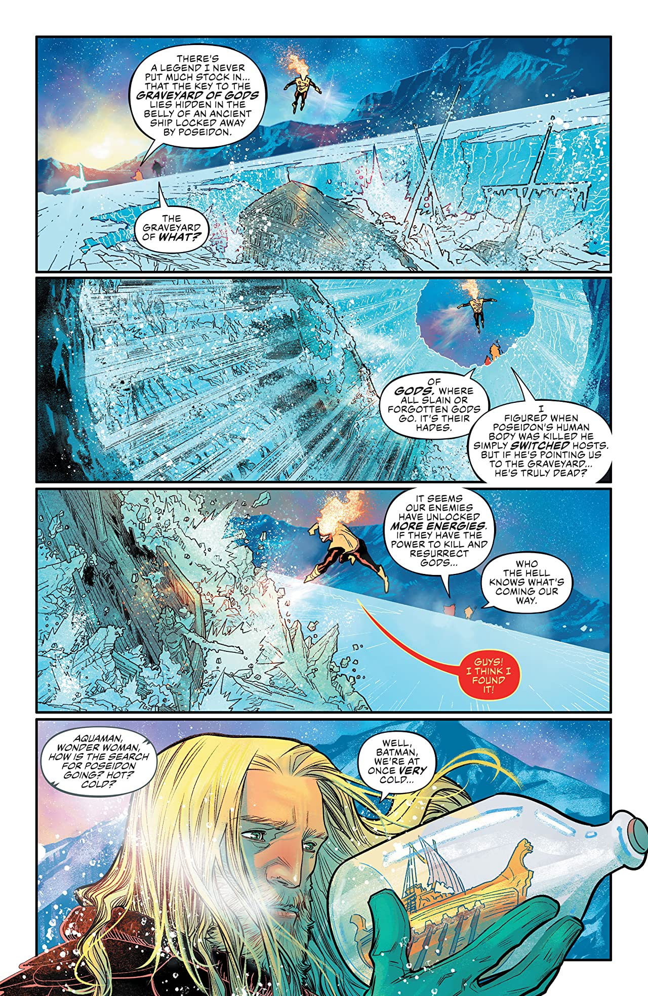 Justice League/Aquaman: Drowned Earth (2018-2019)