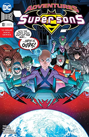 Adventures of the Super Sons (2018-2019) #10