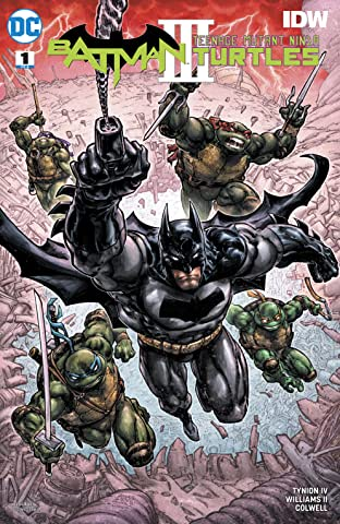 Batman/Teenage Mutant Ninja Turtles III (2019-) #1