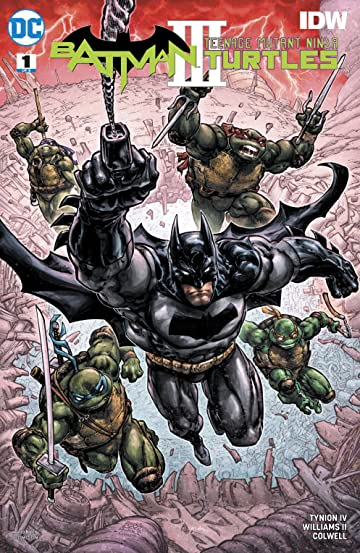 Batman/Teenage Mutant Ninja Turtles III (2019) #1