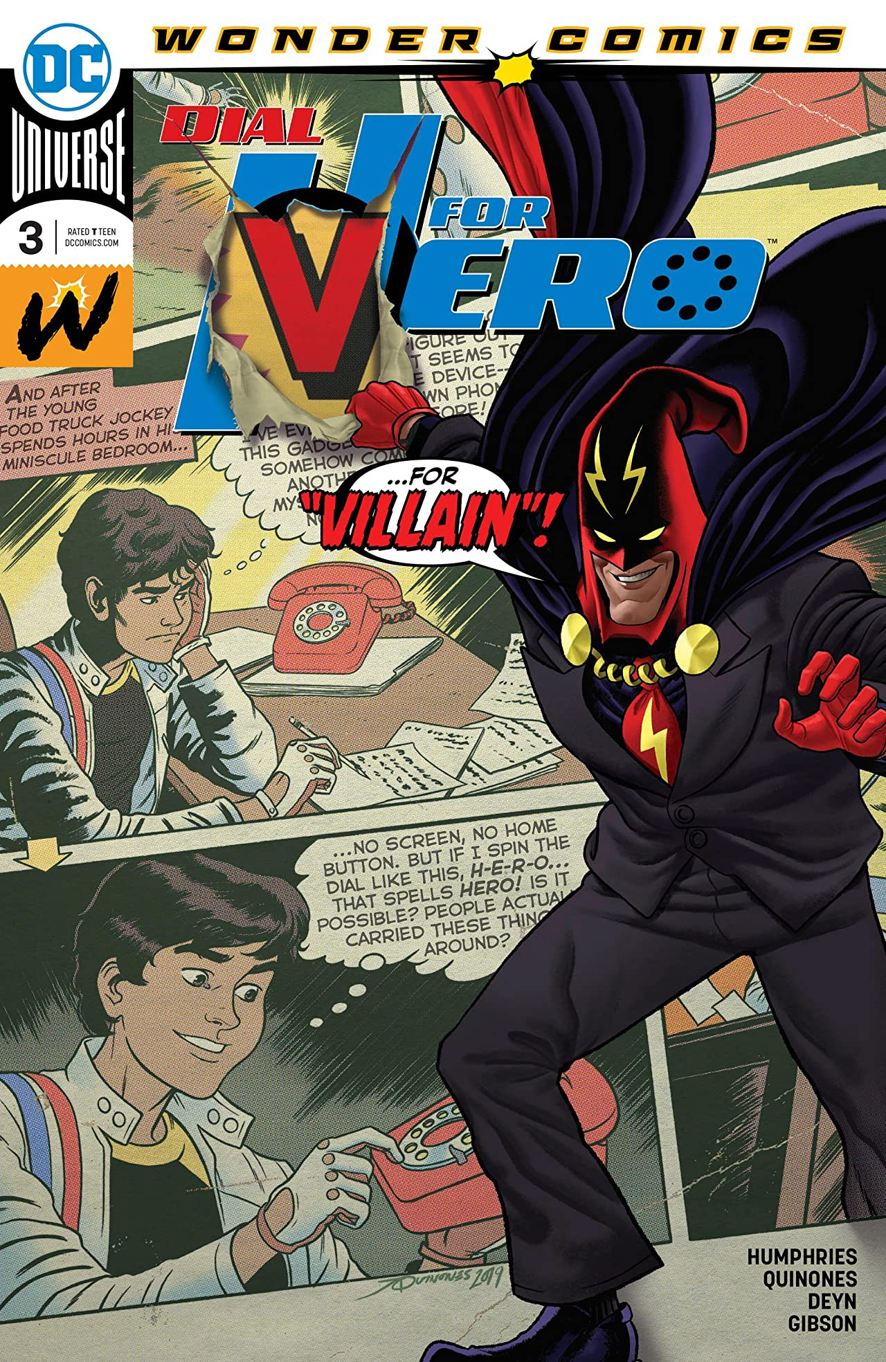 Dial H for Hero (2019-) #3