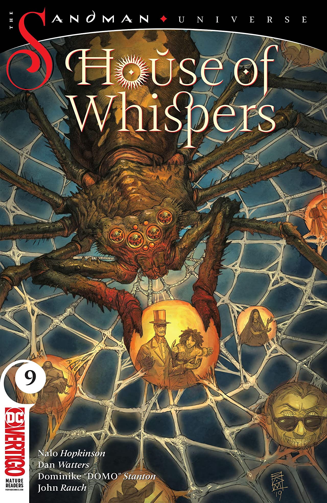 House of Whispers (2018-) No.9