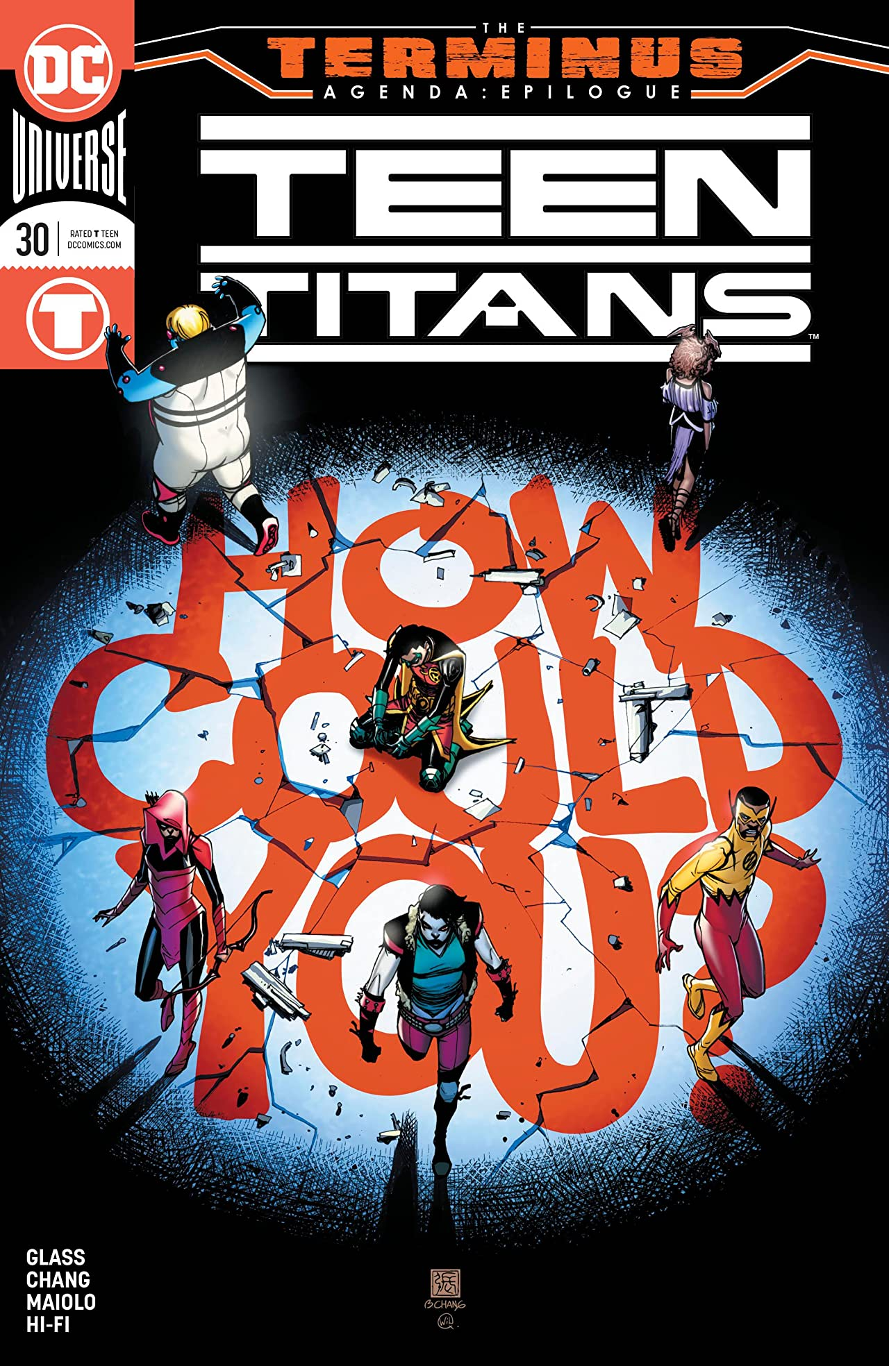 Teen Titans (2016-) No.30